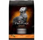 Purina Pro Plan Dry Adult Dog Food, Shredded Blend Chicken and Rice Formula, 35-Pound Bag