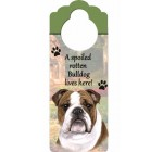 E&S Pets Bulldog Pet Doorknob Note Reviews
