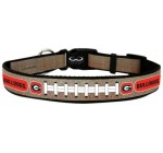 NCAA Georgia Bulldogs Reflective Football Collar, Large