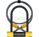 OnGuard Bulldog Mini DT U-Lock with 4-Inch Cinch Loop Cable (Black, 3.55 x 5.52-Inch) Reviews