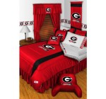 NCAA Georgia Bulldogs – 5pc BED IN A BAG – Queen Bedding Set