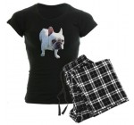 CafePress French Bulldog Women's Dark Pajamas Women's Dark Pajamas – XL With Reviews